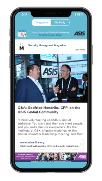 ASIS Mobile Engagement app