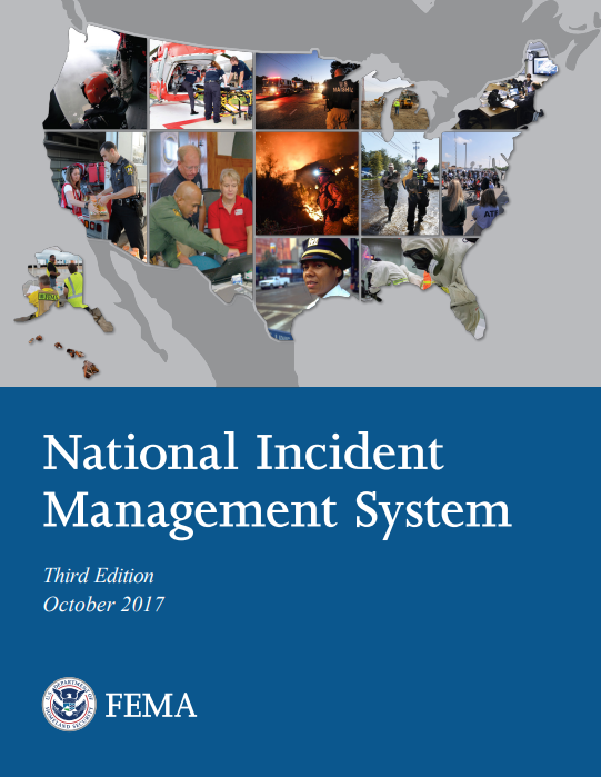 National Incident Management System Report Cover